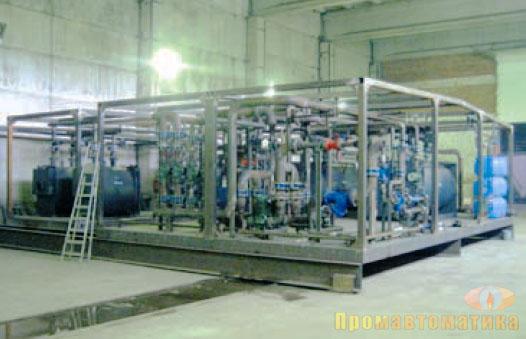 изготовление котельной блочной автоматизированной в спб